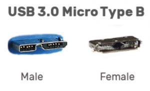 usb 3 micro type b connector