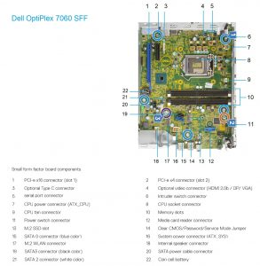 Dell OptiPlex_7060SFF_motherboard_