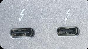2x Thunderbolt 3 ports