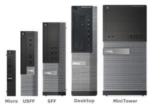 desktop form factors compared