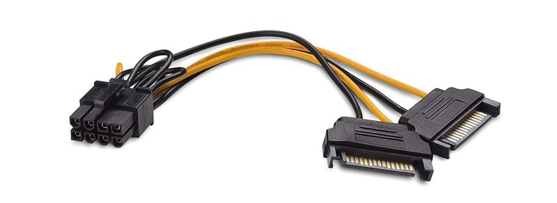 sata to 8-pin pcie power adapter 2021
